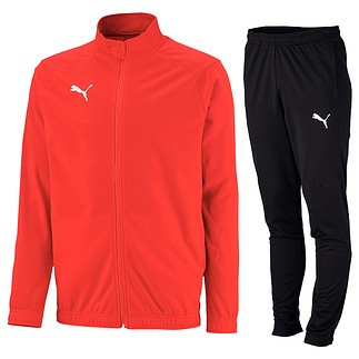 Puma Trainingsanzug CORE LIGA Rot/Schwarz