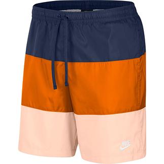 Nike Freizeit- und Badeshorts 3S Blau/Orange/Lachs