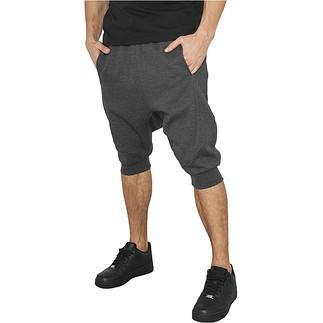 URBAN CLASSICS Shorts Deep Crotch Undefined Dunkelgrau