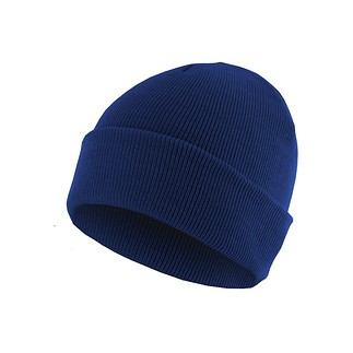 MasterDis Beanie Basic Flap royal