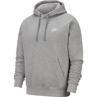 Nike Hoodie Club Uni Grau