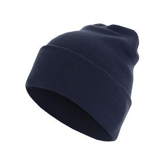 MasterDis Beanie Basic Flap Blau