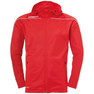 uhlsport Trackjacke Stream 22 rot/weiß