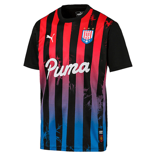 Puma Trikot New Levels Acid Bleach Schwarz/Rot