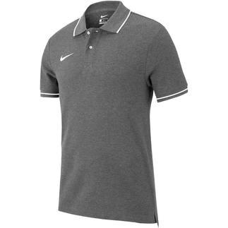 Nike Poloshirt Club 19 Dunkelgrau
