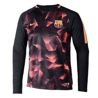 Nike FC Barcelona Langarm Shirt Football Black