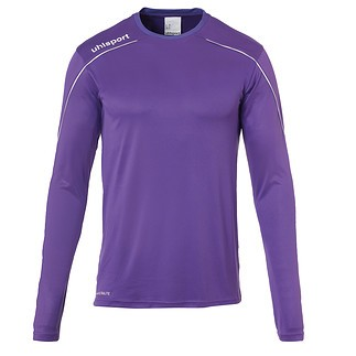 uhlsport Trainingsshirt Langarm Stream 22 lila/weiß