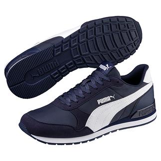 Puma Sneaker Runner Blau/Weiß