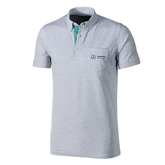 Mercedes AMG Petronas Team Poloshirt grau