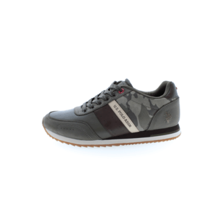 U.S. POLO ASSN. Sneaker Vance Eco grau/braun
