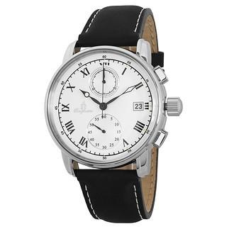 Burgmeister Herren Chronograph Graz weiß/schwarz