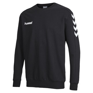hummel Sweatshirt Core Cotton schwarz