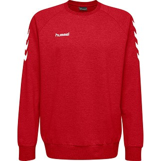 hummel Sweatshirt Cotton rot