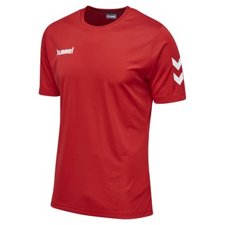 hummel T-Shirt Core Poly rot