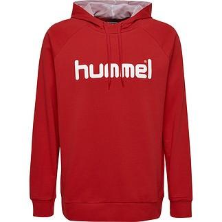 hummel Hoodie Cotton Logo rot