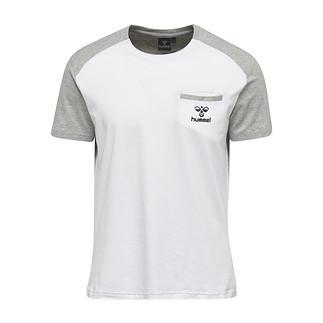 hummel T-Shirt Flint weiß