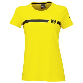 Puma Borussia Dortmund T-Shirt Fan Damen Gelb