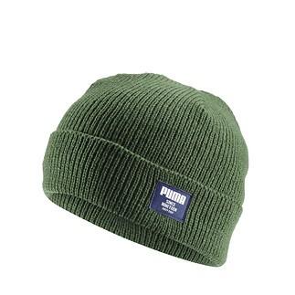 Puma Beanie Ribbed Classic grün