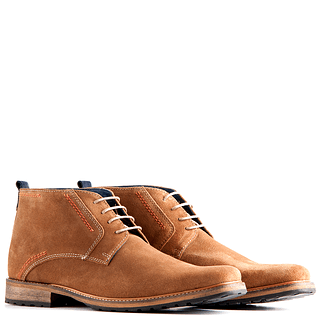 TRAVELIN OUTDOOR Boot London Suede hellbraun