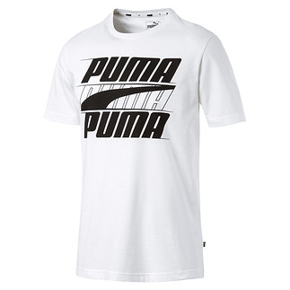 Puma T-Shirt Rebel Basic Weiß