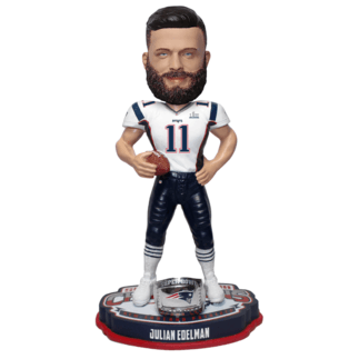 Forever Collectibles New England Patriots Bobblehead Julian Edelman weiß/blau