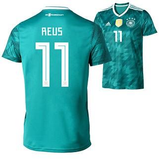 Adidas Deutschland WM 2018 DFB Trikot AUSWÄRTS REUS