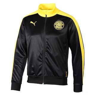 Puma Borussia Dortmund Trackjacke schwarz