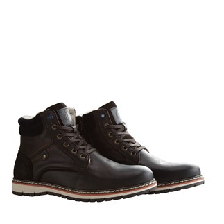 TRAVELIN OUTDOOR Winterboot Stordal dunkelbraun