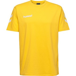 hummel T-Shirt Go Cotton gelb