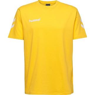 hummel T-Shirt Go Cotton gelb