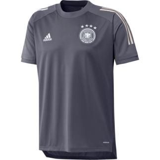 Adidas Deutschland DFB Training-Shirt EM 2020 Dunkelgrau