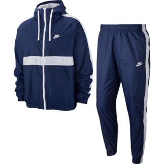 Nike Trainingsanzug Hooded Blau