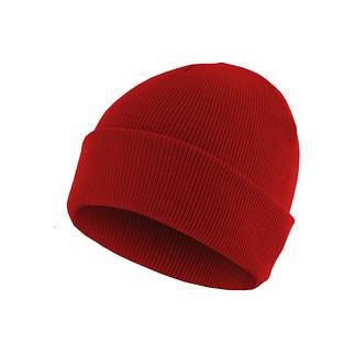 MasterDis Beanie Basic Flap Rot