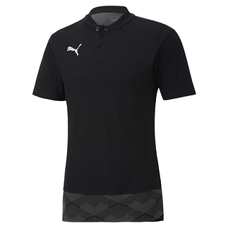 Puma Shirt Casual Knopfleiste Team FINAL 21 Schwarz