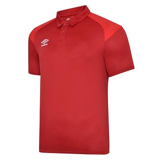 Umbro Poloshirt Poly S20 Rot