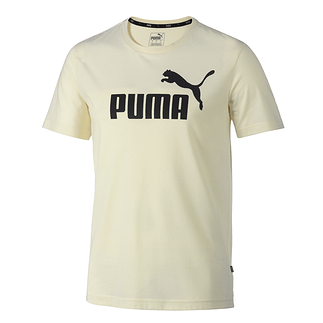 Puma T-Shirt ESS + White Smoke