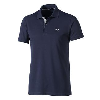 Cotton Butcher Poloshirt Basic dunkelblau