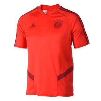 Adidas FC Bayern München Trainingsshirt 2019/2020 Kinder Rot