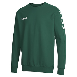 hummel Sweatshirt Core Cotton grün