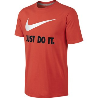 Nike T-Shirt Just Do It Swoosh Orange
