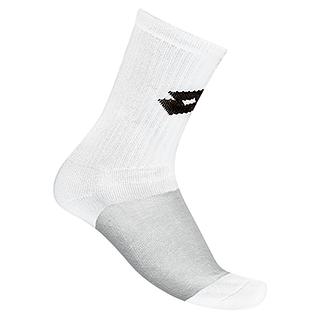 Lotto Socken Logo Training weiß/schwarz