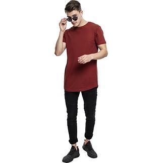 URBAN CLASSICS T-Shirt Shaped Long rost