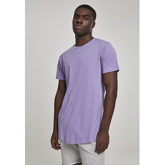 URBAN CLASSICS T-Shirt Shaped Long lavendel
