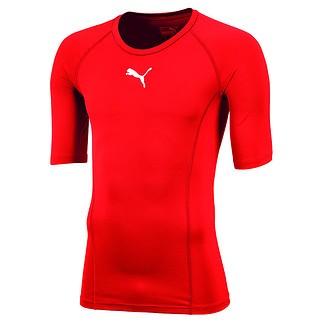 Puma T-Shirt LIGA Baselayer Rot