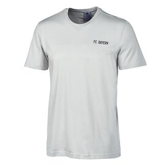 Adidas FC Bayern München T-Shirt Logo Grün