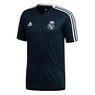 Adidas Real Madrid Trainingsshirt Grau