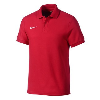 Nike Polo Shirt Club Rot