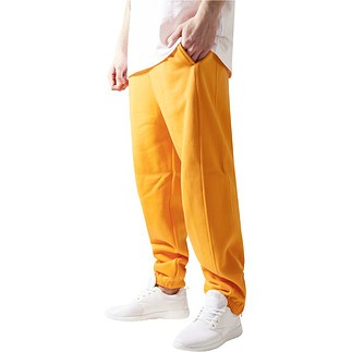 URBAN CLASSICS Jogginghose Sweat Orange