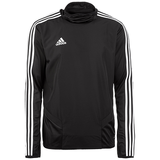 Adidas Trainingsshirt Langarm Warm Tiro 19 Schwarz