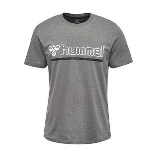 hummel T-Shirt Brick dunkelgrau